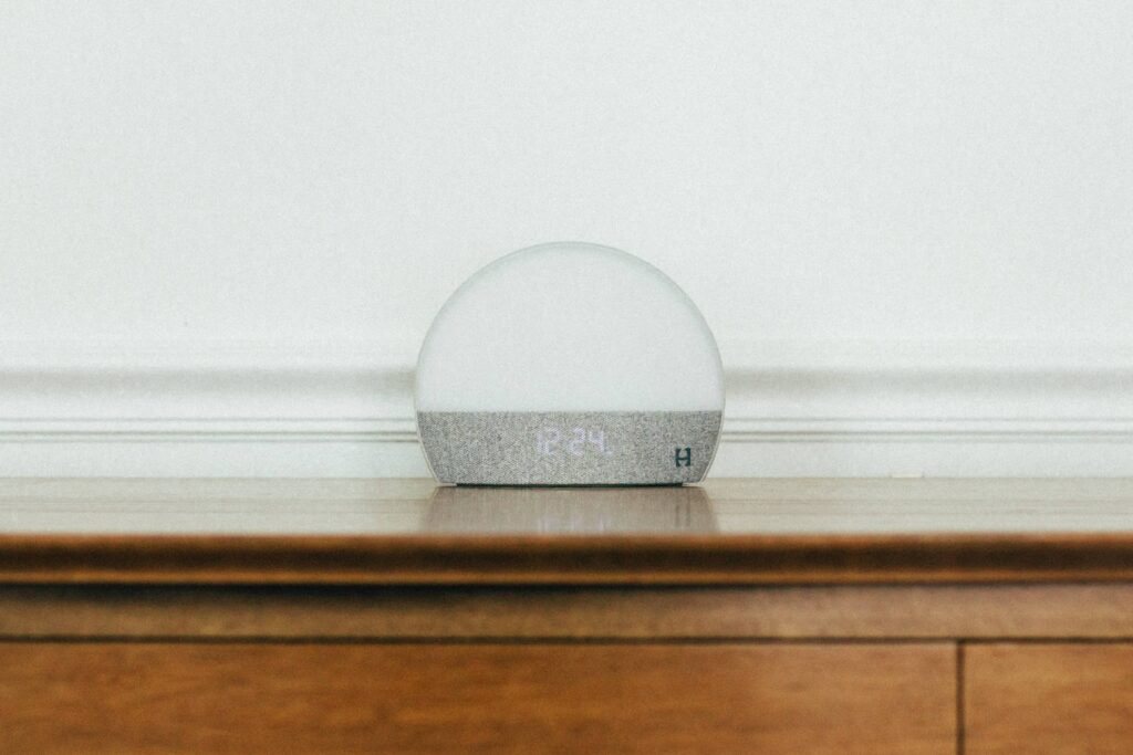 The Hatch Restore is a light, noise maker, and alarm all in one.